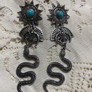 Studded earrings